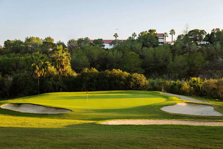 Overview of golf course named Campo de Golf Villamartin