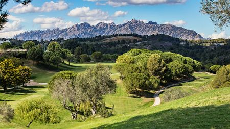 Overview of golf course named Club de Golf Barcelona