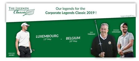 Cover of golf event named The Legends Classic - Luxembourg
