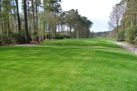 Overview of golf course named Rinkven Golf Club - South Course