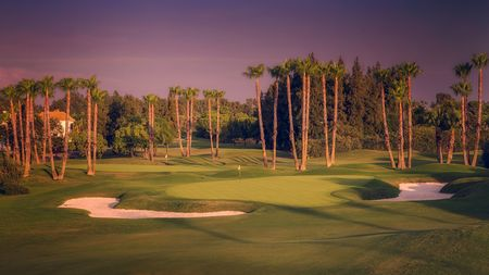 Overview of golf course named Real Club Sevilla Golf