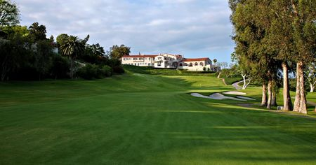 Overview of golf course named Riviera Country Club