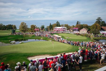 Hosting golf course for the event: The Evian Championship