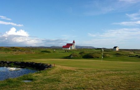 Vatnsleysustrandar Golf Course Cover Picture