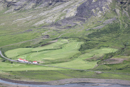 Eskifjordur Golf Course Cover Picture