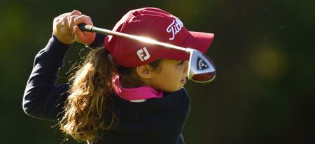 Cover of golf event named The Evian Championship Junior's Cup