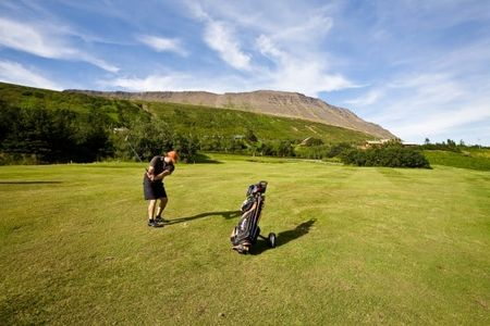 Holmavik Golf Course Cover Picture