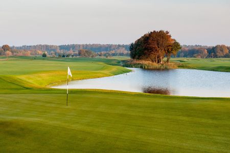 Overview of golf course named Jurmala Golf Club & Hotel