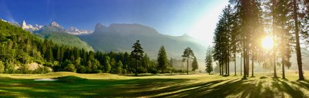 Overview of golf course named Golf Bovec