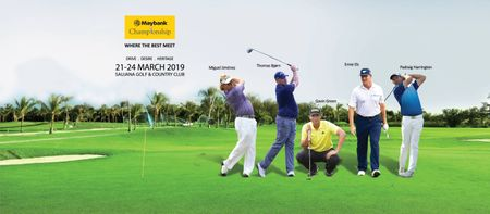 Cover of golf event named Maybank Championship