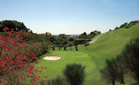 Overview of golf course named Villa Padierna Golf Club - Tramores Course
