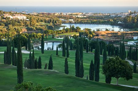 Overview of golf course named Villa Padierna Golf Club - Flamingos Course