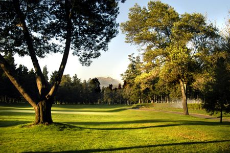 Overview of golf course named Club de Golf Mexico