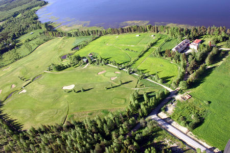 Overview of golf course named Saint Lake Golf Club