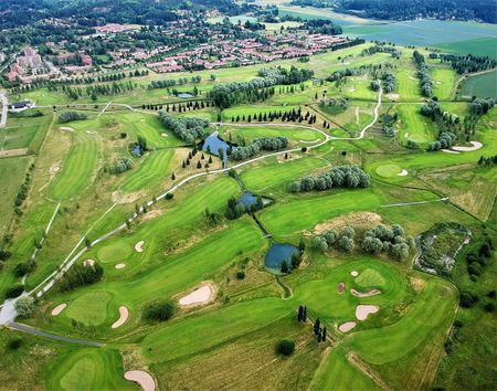Overview of golf course named Salo Golf