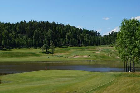 Overview of golf course named Nokia River Golf