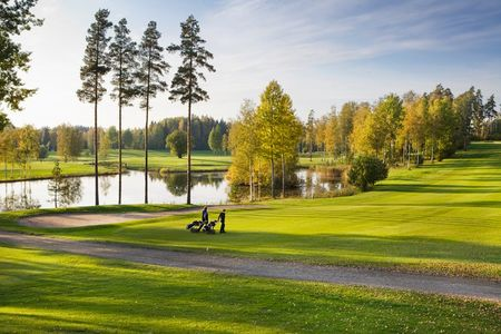 Overview of golf course named Keimola Golf