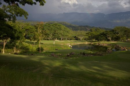 Overview of golf course named Mesa de Yeguas Country Club