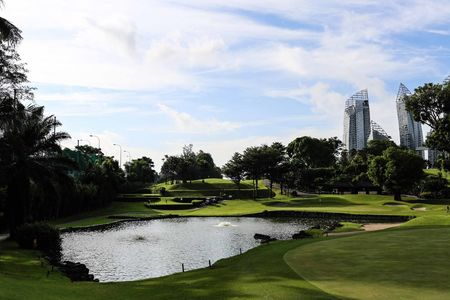 Overview of golf course named Keppel Club
