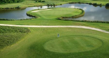 Overview of golf course named Kek Duna Golf Club