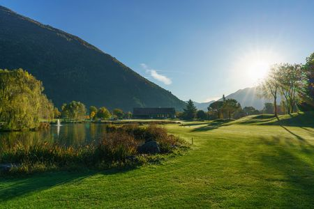 Overview of golf course named Golf Gerre Losone