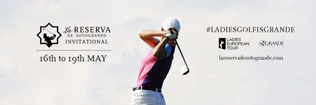 Cover of golf event named La Reserva de Sotogrande Invitational