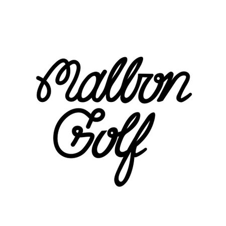 Logo of golf brand Malbon Golf