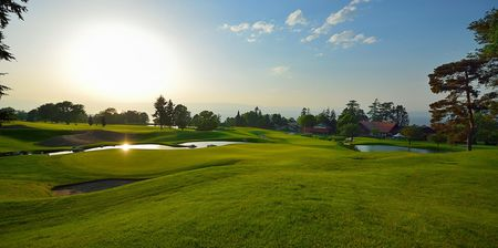 Overview of golf course named Evian Resort Golf Club