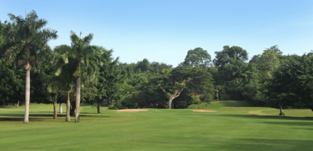 Overview of golf course named Caymanas Golf and Country Club