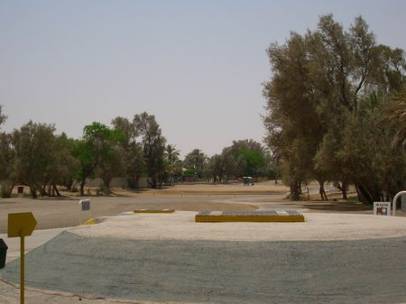 Overview of golf course named Ain Nakhl Golf Club
