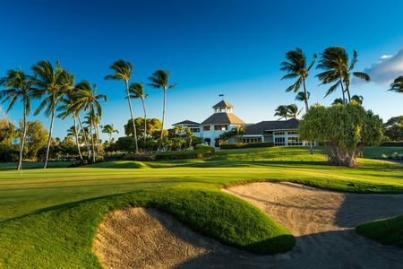 Overview of golf course named Waikoloa Beach Resort