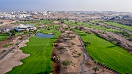 Overview of golf course named Ghala Valley Golf Club
