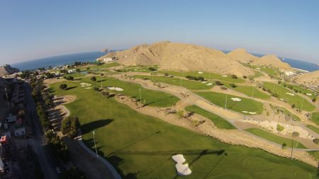 Overview of golf course named Ras Al Hamra Golf Club