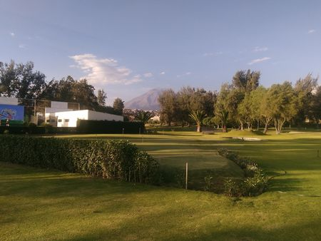 Overview of golf course named Arequipa Golf Club