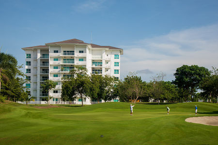 Overview of golf course named Bijao Beach Club and Golf Resort