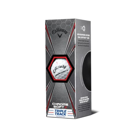 Thumb of Ball Chrome Soft X Triple Track from Callaway