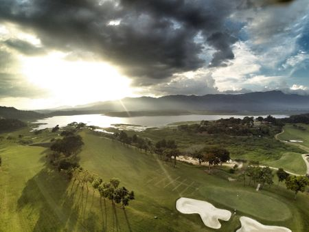 Overview of golf course named Guataparo Country Club
