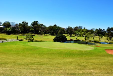 Overview of golf course named Parana Country Club
