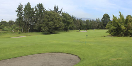Overview of golf course named Arrayanes Country Club