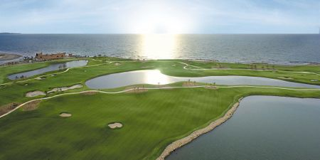 Overview of golf course named TPC Cartagena at Karibana