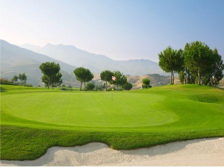 Overview of golf course named Jose Jurado Golf Club