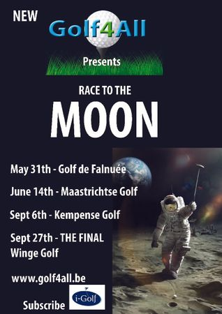 Hosting golf course for the event: Golf4All Race to the Moon - Golf de Falnuée