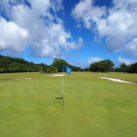 Overview of golf course named Rarotonga Golf Club