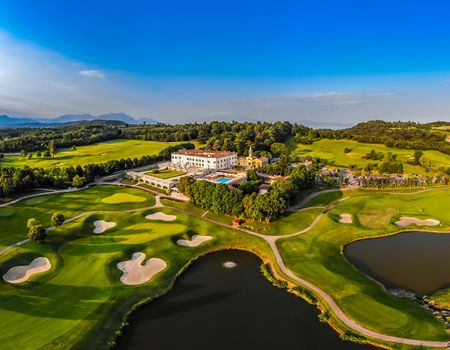 Overview of golf course named Palazzo Arzaga Hotel, Spa and Golf Resort