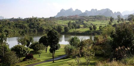 Overview of golf course named Sky Lake Resort and Golf Club