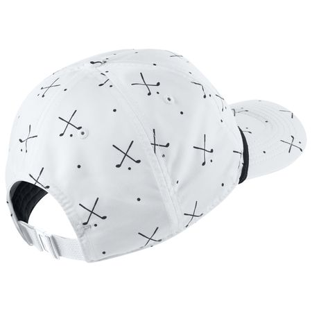 Golf undefined Aerobill Classic 99 Print Cap White - SS19 made by Nike Golf