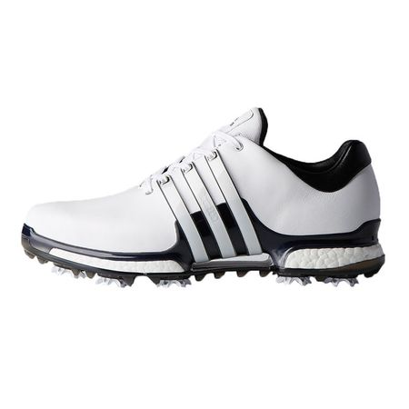 Golf undefined adidas TOUR 360 2.0 Men's Golf Shoe - White/Black made by Adidas Golf