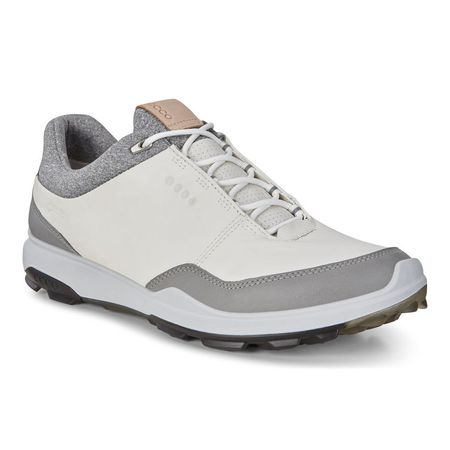 Golf undefined ECCO BIOM Hybrid 3 GTX Men's Golf Shoe - White/Black made by ECCO
