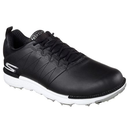 Shoes Skechers GO GOLF Elite V.3 Men's Golf Shoe - Black/White Skechers Picture