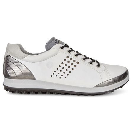 Golf undefined ECCO BIOM Hybrid 2 Men's Golf Shoe - White/Black made by ECCO